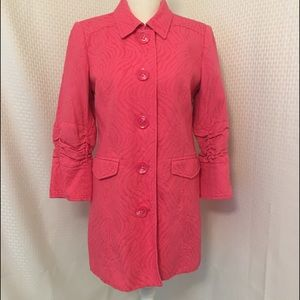 Vintage Style Musette Long Jacket Coat